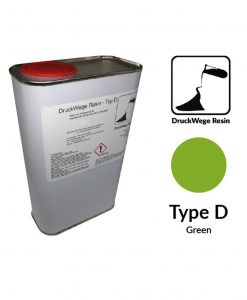 Druckwege Type-D green resin, SLA resin