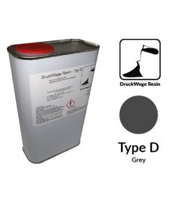 Druckwege Type-D grey resin, SLA resin